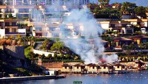 El Maktum'un Bodrum'daki otelinde yangın