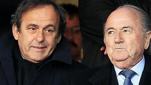 Blatter ve Platininin görevleri askıya alınıyor
