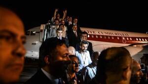 Kaçırılan Türk işçiler yurda döndü