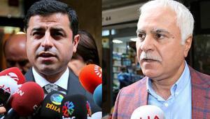 HDP Eş Genel Başkanı Selahattin Demirtaş ile MHP Milletvekili Koray Aydından Ahmet Hakana ziyaret