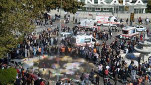Ankarada tren garı önünde meydana gelen patlamada 95 kişi öldü, 246 kişi yaralandı