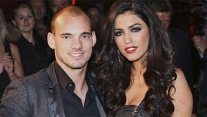 Wesley Sneijder ikinci kez baba oldu