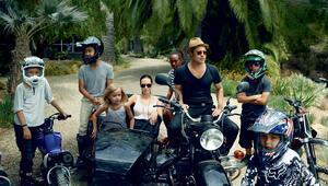 Angelina Jolie-Brad Pitt çifti ve çocukları Vogue dergisinde