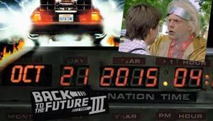 Bugün Geleceğe Dönüş günü 21.10.2015 | Back to the Future