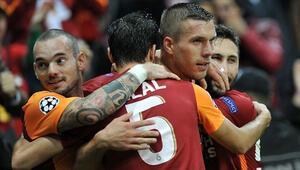 Galatasaraydan derbi uğuru
