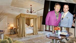 Elton John ve eşi David Furnishin muhteşem villası