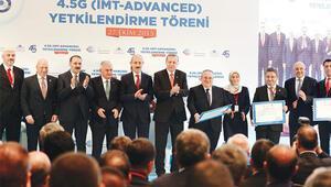 Turkcell, Avea ve Vodafone 4.5g için yetkilendirme belgelerini aldı