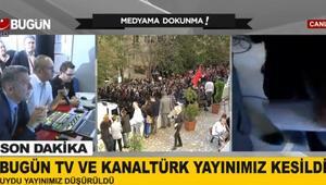 Bugün TV Kanaltürk yayınları kesildi