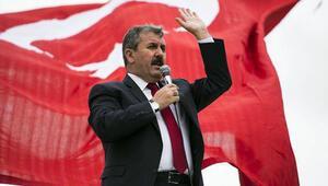 BBP lideri Mustafa Destici isyan etti: 'Kanallar kapandı biz çıkmıyoruz rahatladınız mı'