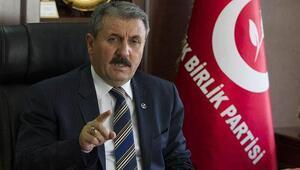 BBP Genel Başkanı Mustafa Destici, Ak Partiyi yüzde 49a taşıyan sebebi açıkladı