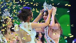 Miss Turkey 2015te Türkiye güzeli Ecem Çırpan oldu