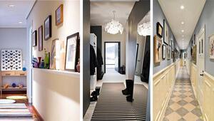 Koridor için dekorasyon fikirleri
