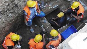 Milasta bin 6 yüz yıllık mezar bulundu