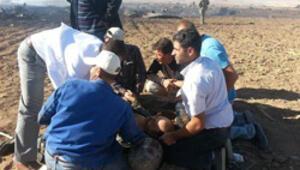 Sivasta F4 düştü: Pilot binbaşı ve yüzbaşı yaralandı