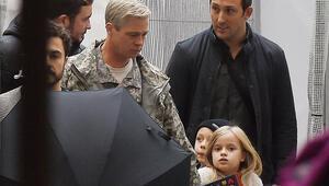 Brad Pittin saçları beyazladı
