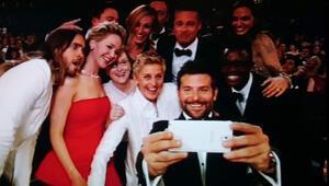 Ellen DeGeneresin selfiesi rekor kırdı