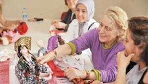 Altındağlı kadınların yeni el becerisi kitre bebekler