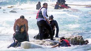 1 milyon mülteci Libya'da bekliyor
