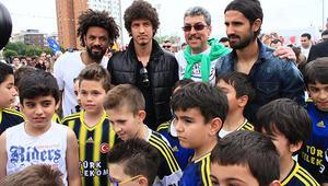Fenerbahçeliler çocuklar gibi şendi