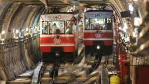 Karaköy-Beyoğlu Tüneli 140ncı yaşını kutluyor