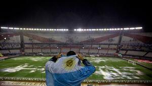 Arjantin-Brezilya maçına yağmur engeli