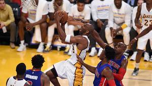 Lakers 4 maç sonra kazandı