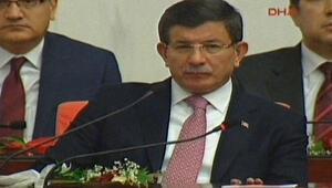 Başbakan Davutoğlu erken yemin etti