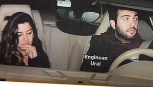 Engincan Ural kız arkadaşıyla gecelerde