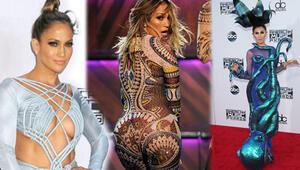 2015 Amerikan Müzik Ödülleri gecesinde kim ne giydi