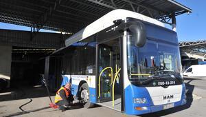 Otobüslere kış bakımı