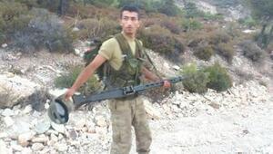 Şehit asker 5 ay sonra mesleği bırakacaktı