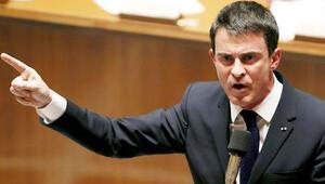 Fransa Başbakanı Manuel Valls Benzemanın biletini kesti