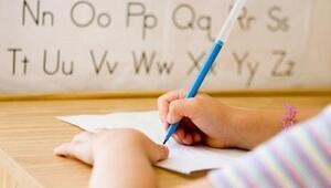 İlkokulda el yazısınadestek düşük