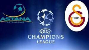 Galatasaray - Astana maçı saat kaçta, hangi kanalda   CANLI İZLE