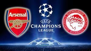 Olympiakos - Arsenal maçı saat kaçta, hangi kanalda   Canlı izle