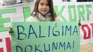Bandırma'da termik santralin ÇED toplantısı protestolu geçti