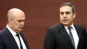 Feridun Sinirlioğlu ve Hakan Fidan, Irak Başbakanı Haydar el İbadi ile görüştü