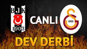 Beşiktaş Galatasaray derbisi hangi kanalda   CANLI İZLE