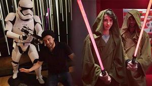 Ünlülerden Star Warsa büyük ilgi