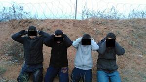 Sınırda 7 IŞİDli yakalandı
