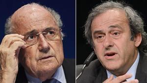 FIFA Etik Kurulundan Blatter ve Platiniye 8er yıl ceza