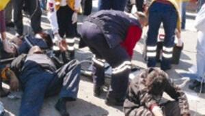 Kaza bilançosu: Bir ölü üçü çocuk 19 yaralı