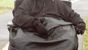 Kelepçeyle 127 kilo verdi, o da yetmedi