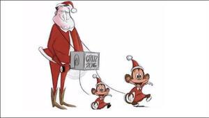 Cruz'un kızlarını maymun yapan karikatürü çektiler