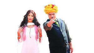 Sermiyan Midyat'ın yeni filmi Bir baba Hindunun çekimleri devam ediyor