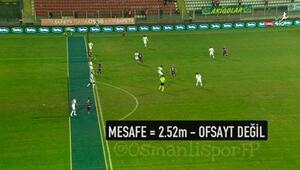 Akhisar Belediyespor-Osmanlıspor maçında Türkiye rekoru