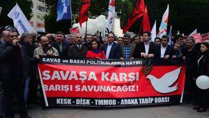 Adanada yürüyüş yasağı
