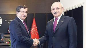 Başbakan Davutoğlu ile CHP lideri Kılıçdaroğlunun görüşmesi 135 dakika sürdü