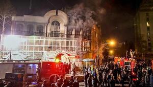 ABD Suudi Arabistanın büyükelçilik binasına saldırıyı kınadı