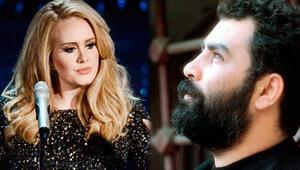 Adelein şarkısı çalıntı çıktı